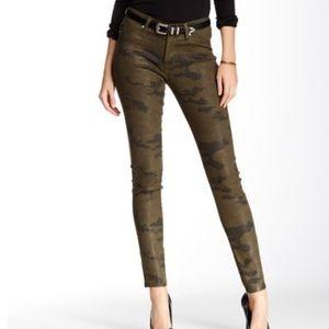 Hudson Jeans Camo Print NWT